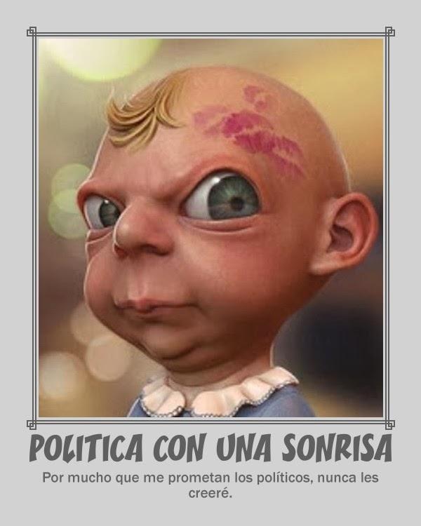 Politica con una sonrisa