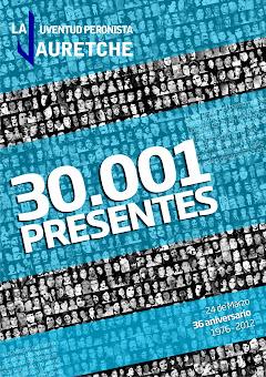 30.001 compañeros presentes