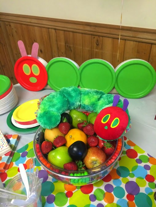 & Berries of Wisdom: The Very Hungry Caterpillar 1st Birthday Party