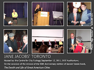 Jane Jacobs' Toronto Forum, Hosted by: the Centre for City Ecology, September 15, 2011, photos by Olga Goubar, wobuilt.com