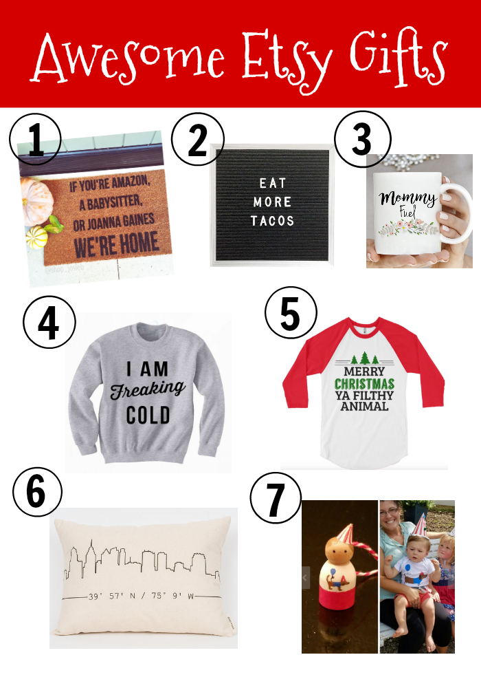 Awesome Etsy Gift Ideas