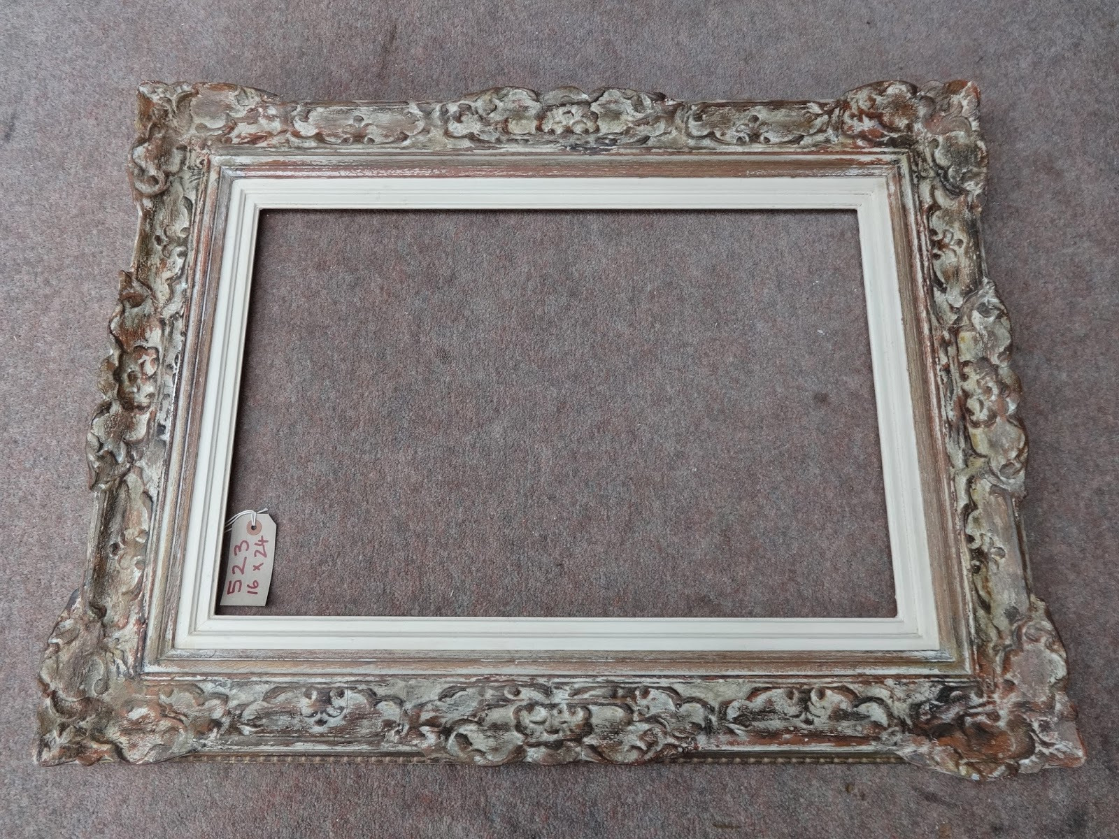 Antique frame sale montparnasse style vintage frame for How to make vintage frames