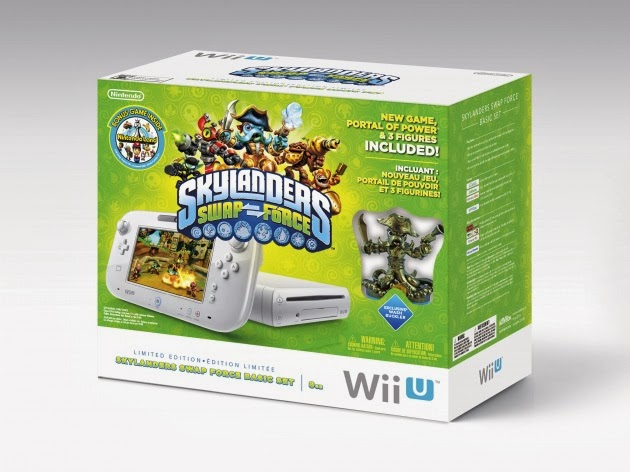 Image of Skylanders Swap Force Wii U Bundle