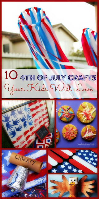 4th of July, Crafts, Kids, Fun