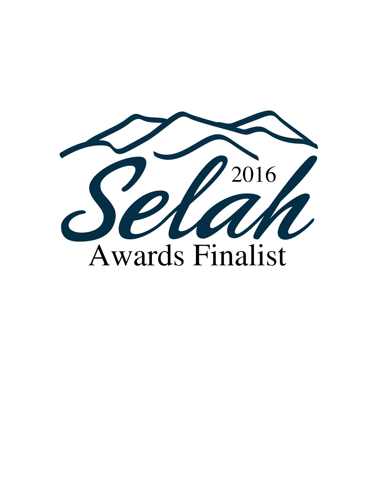 Covert Justice is a Selah Finalist!