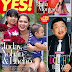 Judy Ann Santos and kids on the cover of Yes! magazine August 2012