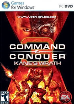 Command And Conquer (C&C) 3: Kanes Wrath PC Cover