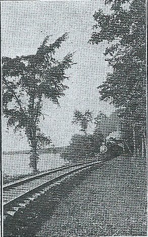 <br>* * * * * * * * * * * * * * * * <br>1875--Transportation by<br>Silver Lake Railroad