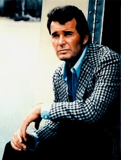 Jim Rockford aka James Garner, actor