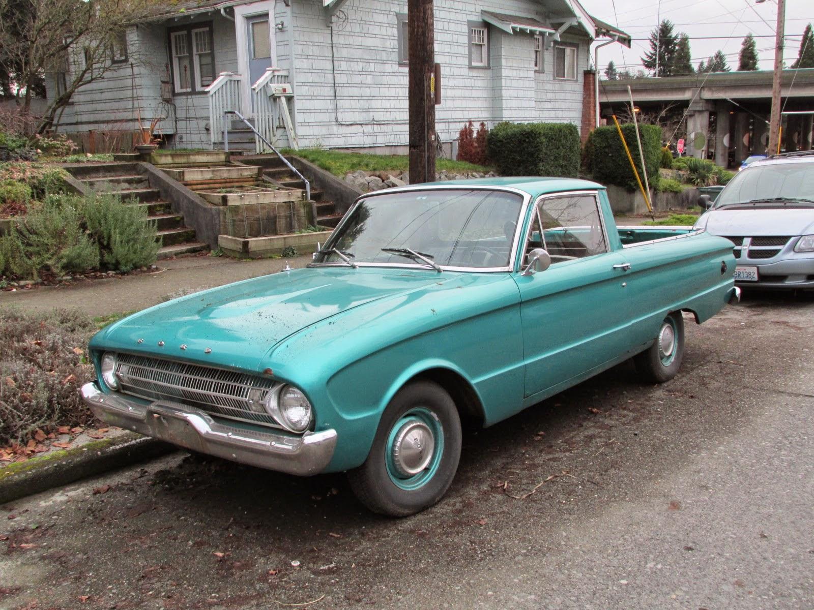 Seattle's Classics: 1961 Ford Falcon Ranchero