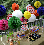Run Away With The Circus Dessert Table