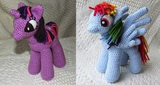 Amigurumi My Little Pony Pattern : 2000 Free Amigurumi Patterns: My Little Pony: Friendship ...