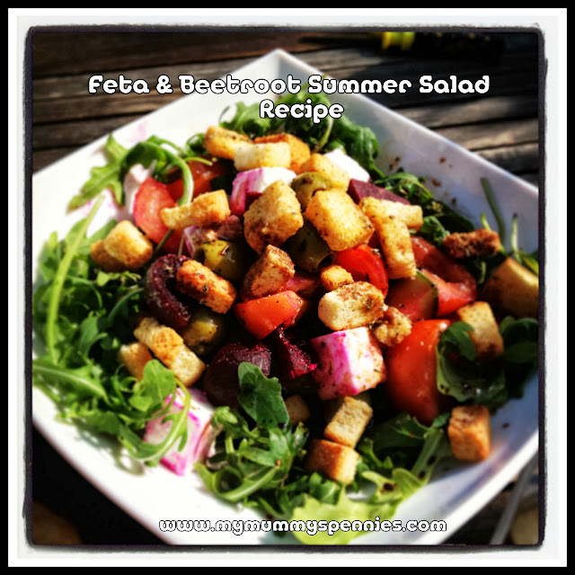 feta and beetroot summer salad recipe