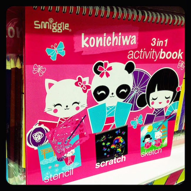 Konichiwa Activity Book