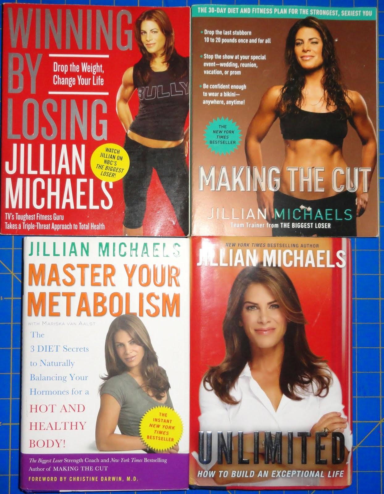 Jillian Michaels Books for Sale