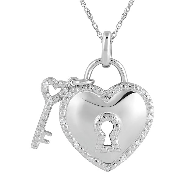 locked heart jewelry