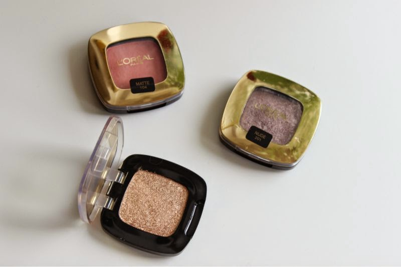 L'Oreal Color Riche Mono Eyeshadows