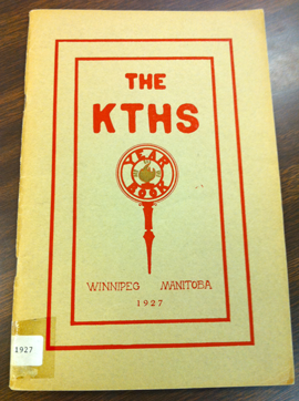 1927 KELVIN YEARBOOK