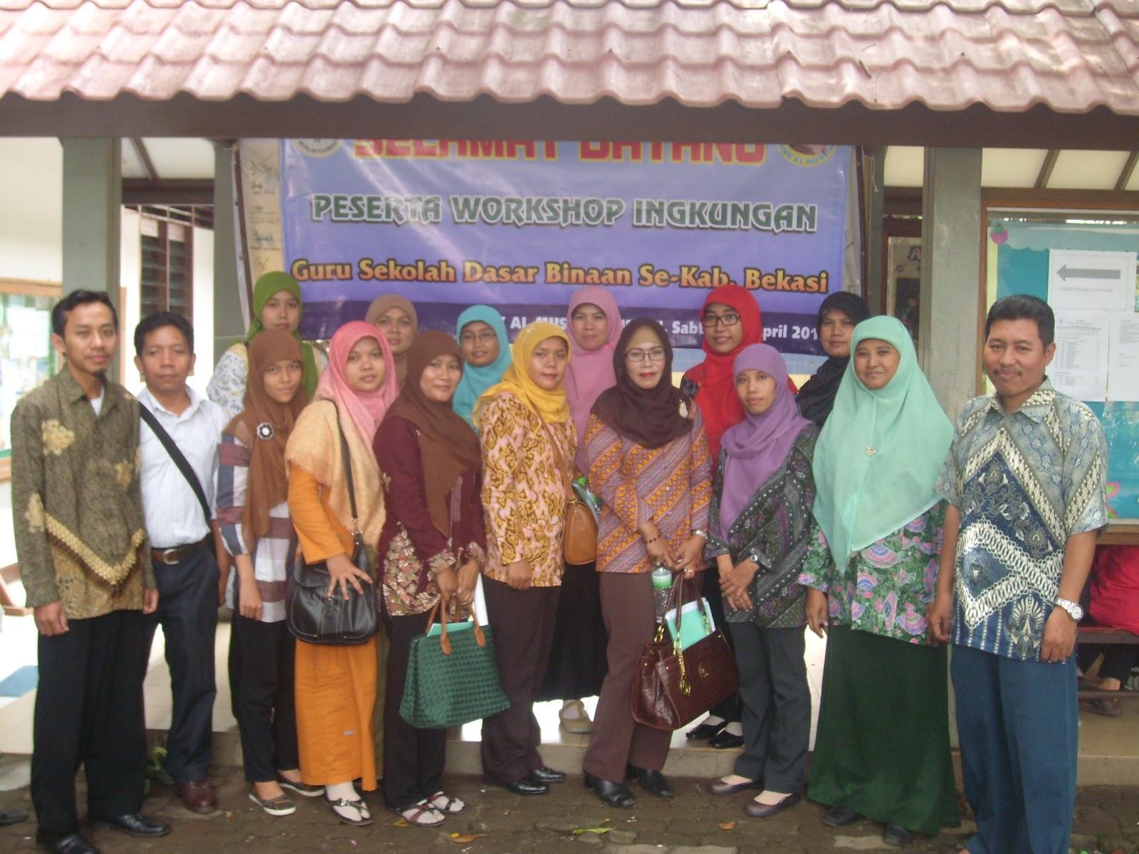 SMK Al Muslim Tambun  menyelenggarakan kegiatan workshop lingkungan untuk sekolah-sekolah setingkat SD  yang ada dibeberapa  wilayah  Bekasi.