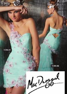 Vestido de Tendencia Fiesta para Fin de Año 2012