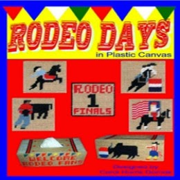 Rodeo Days In Plastic Canvas