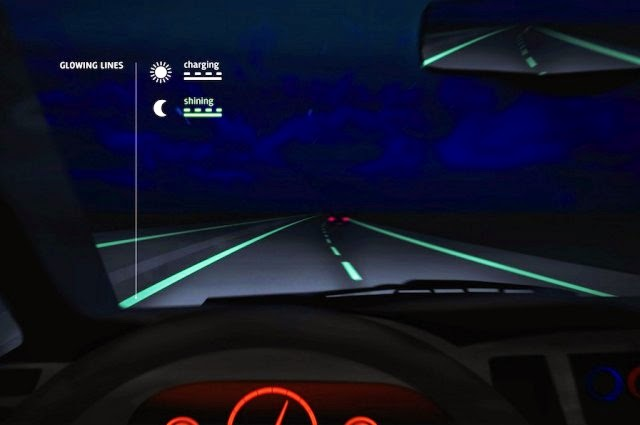 Glow-in-the-Dark Roads Now a Reality