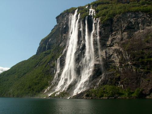 10 Wonderful Amazing Of Geirangerfjord Waterfalls Norway