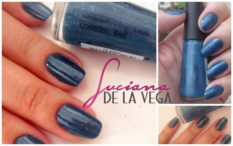 esmalte Azul perfeito avon color trend, verniz, polishbail, manicure, unhas feitas, esmalte azul, esmalte verde, shimmer, esmalte com glitter