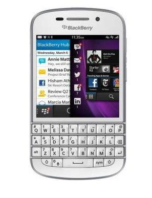 Harga Dan Spesifikasi BlackBerry Q10 - Putih