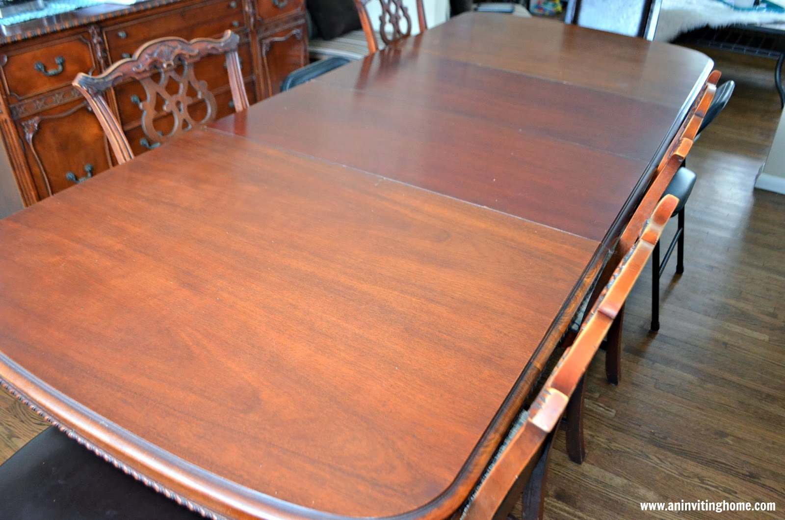 large dining room table