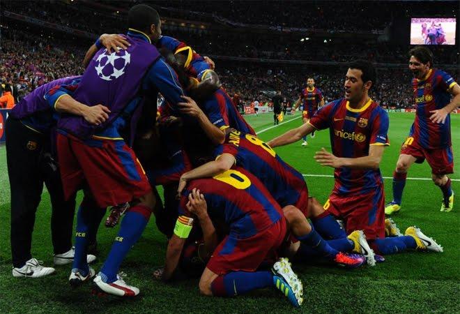 Barcelona campeon Liga de Campeones 2011