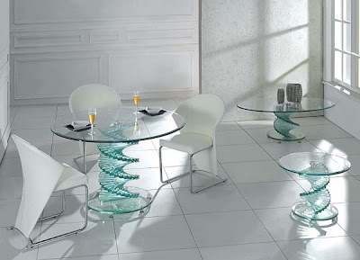 Adaptive Interior Design With Glass Accessories glass furniture
