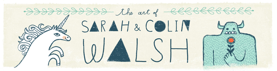 The art of Sarah and Colin Walsh