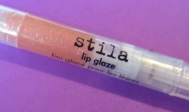 Stila Lip Glaze in Glimmer - Birchbox and Women's Health January 2015 box