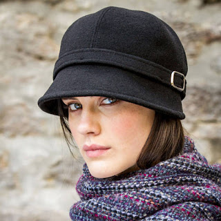 Mucros Black Flapper Cap