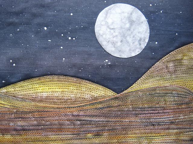 art quilt stitching