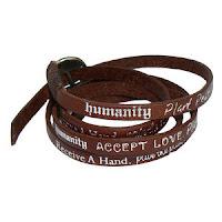 Humanity Bracelet Leather8