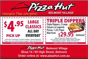 Pizza hut coupons october 2019