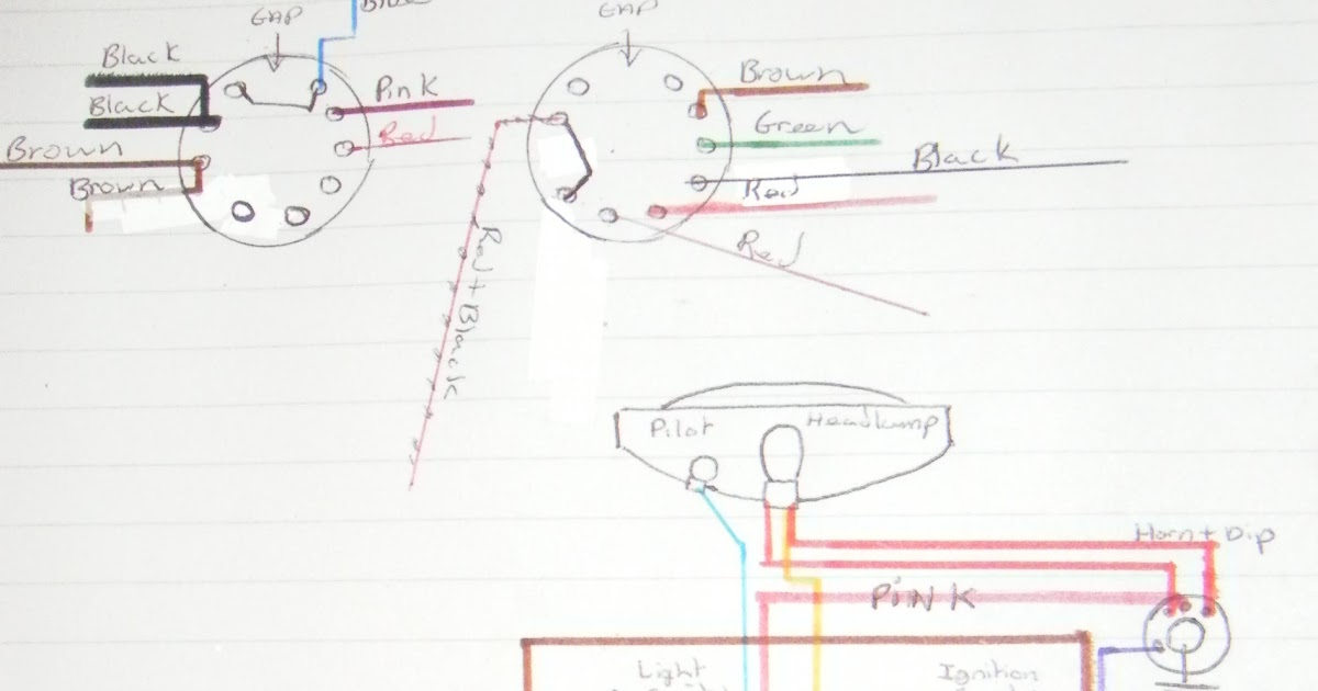 My Bsa Bantam D7  Wiring Diagram