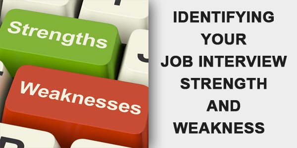 strengths and weakness interview