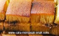 resep praktis dan mudah membuat (memasak) kue martabak manis spesial khas bangka enak, legit, lezat
