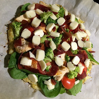 Healthy Homemade Pizza 1