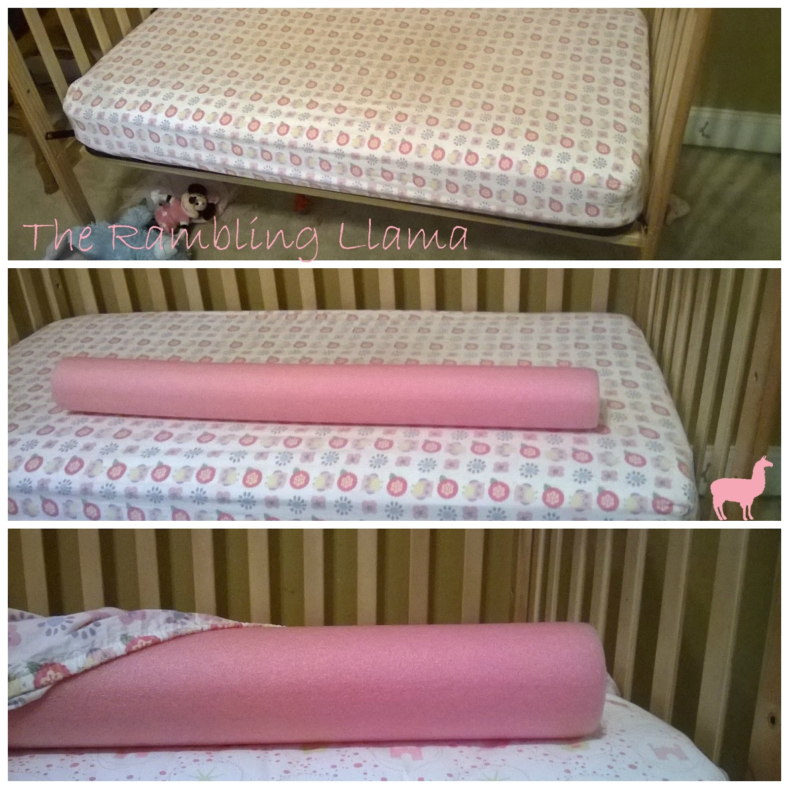 the rambling llama diy bed rail. Black Bedroom Furniture Sets. Home Design Ideas