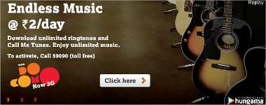 Tata Docomo Endless Music Service, Music With Docomo, Tata Music Service
