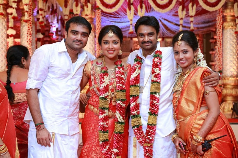 Director Vijay Amalapaul Marriage Stills
