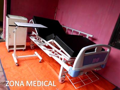 Tempat Tidur Pasien Rumah Sakit ABS 2 Crank SELLA [ RZ-30B ]