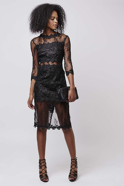 topshop premium lace dress, topshop black lace dress,