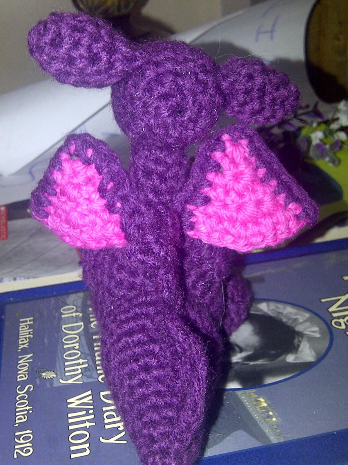 Crochet Corner: Purple Dragon