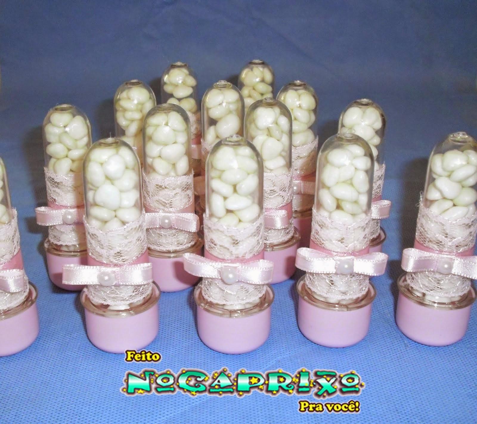 Mimos NoCaprixo - A festinha da pequena Maria Giulia ficou caprixado com mimos personalizados