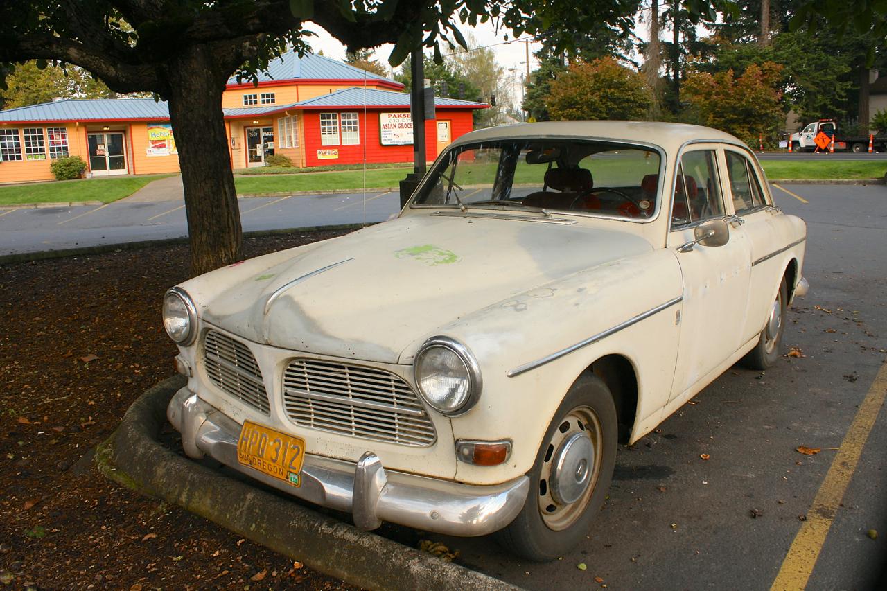 1965 Volvo Amazon 122S sedan.